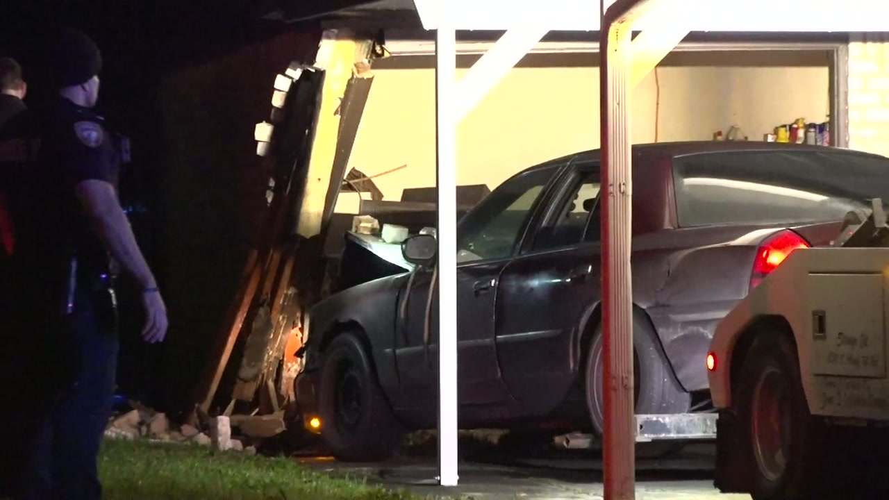 Driver slams into house while homeowner was asleep