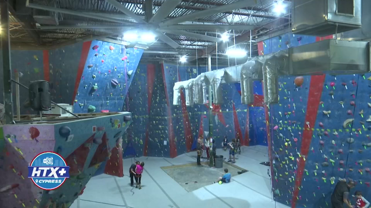 Two local athletes from Cypress have been training at Stone Moves Gym, in preparation for Rock Climbings debut at the 2020 Tokyo Olympics.