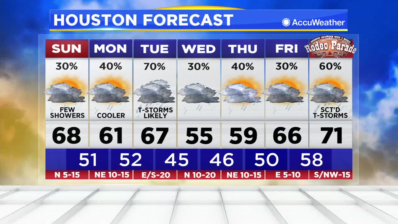 Houston Weather: Foggy/Drizzle start to Sunday, clearing late and perhaps some peeks of sun.