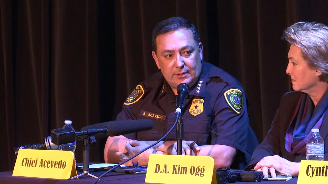 HPD Chief Acevedo reminds town hall department initiated investigation after raid