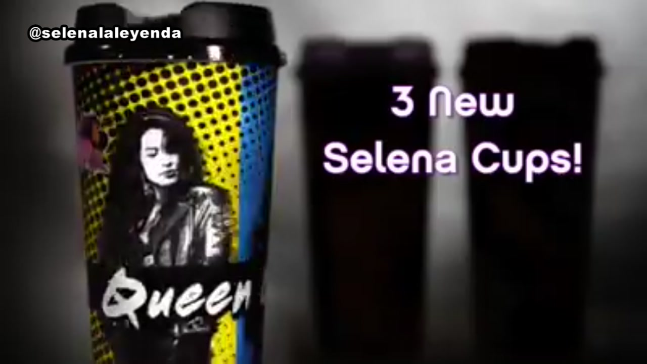 Get ready, Selena fans! Youll have another chance to grab commemorative cups honoring the late singer.