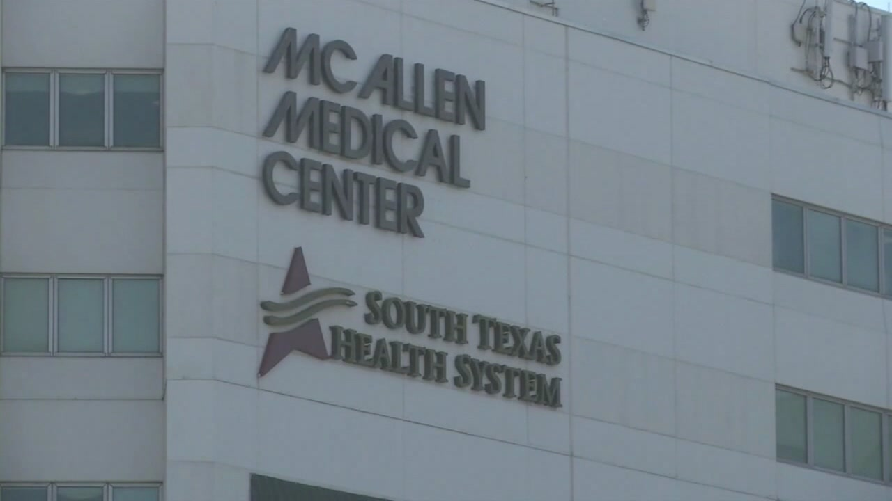 A Mexican man died at a McAllen hospital Monday while in Border Patrol custody after crossing the U.S.-Mexico border into Texas earlier this month, officials said.