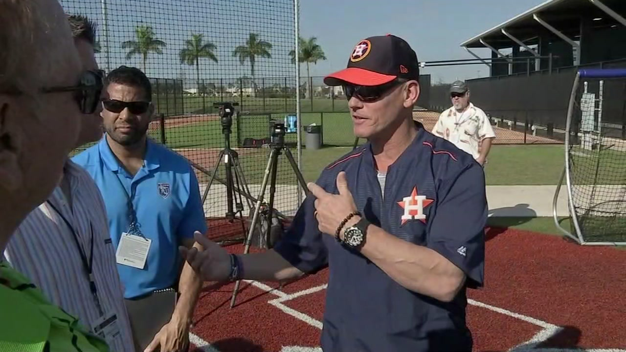 Craig Biggio becomes lifer with latest Astros spring training visit