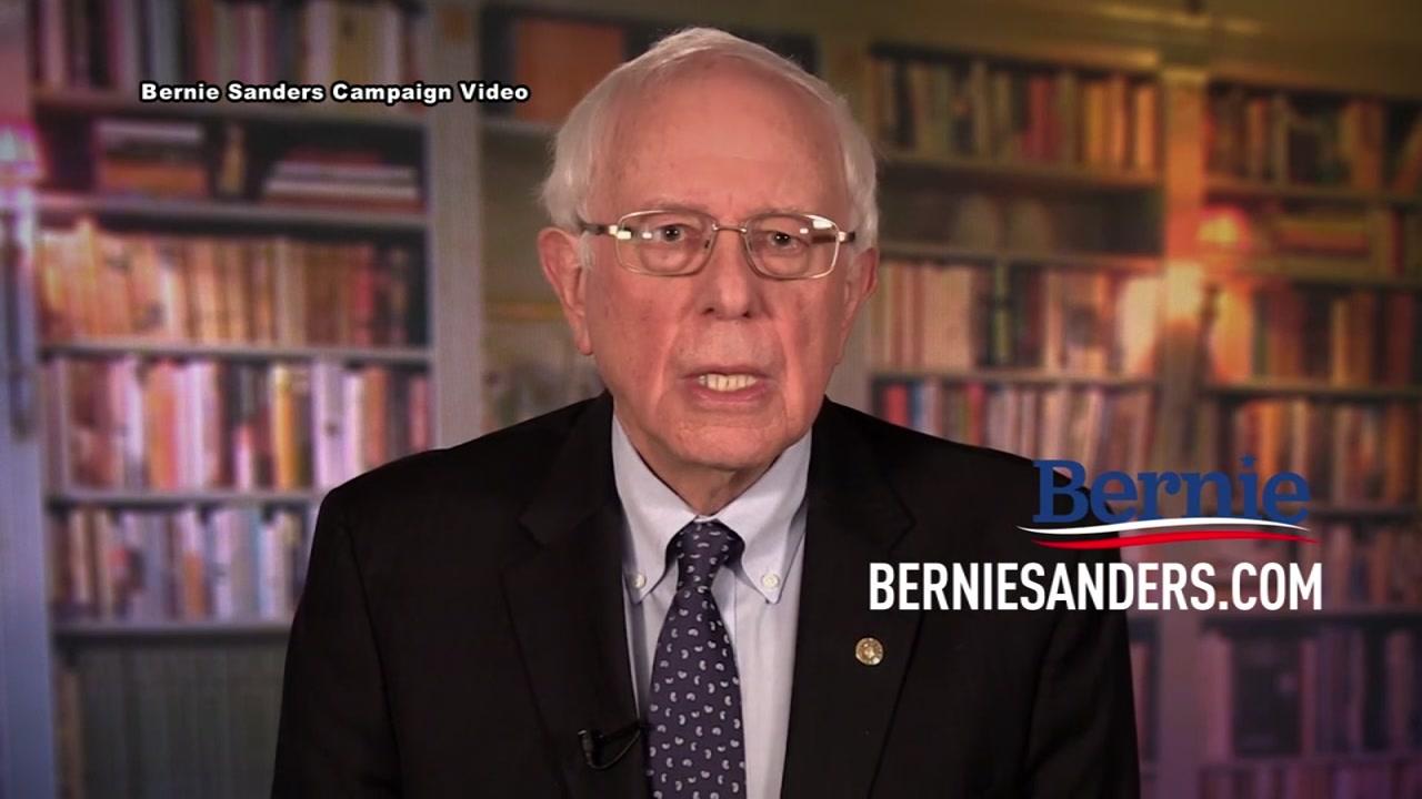 Bernie Sanders announces presidential bid