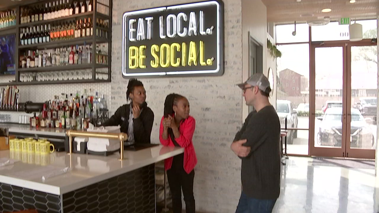 Two people that heard about a job fair on ABC13 have been hired and promoted at Dish Society.