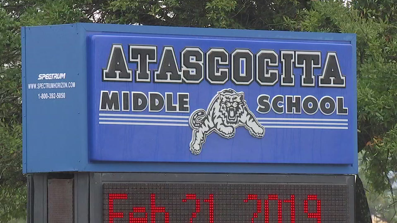 Middle school student arrested for bringing blade saw to school and having hit list, principal says.