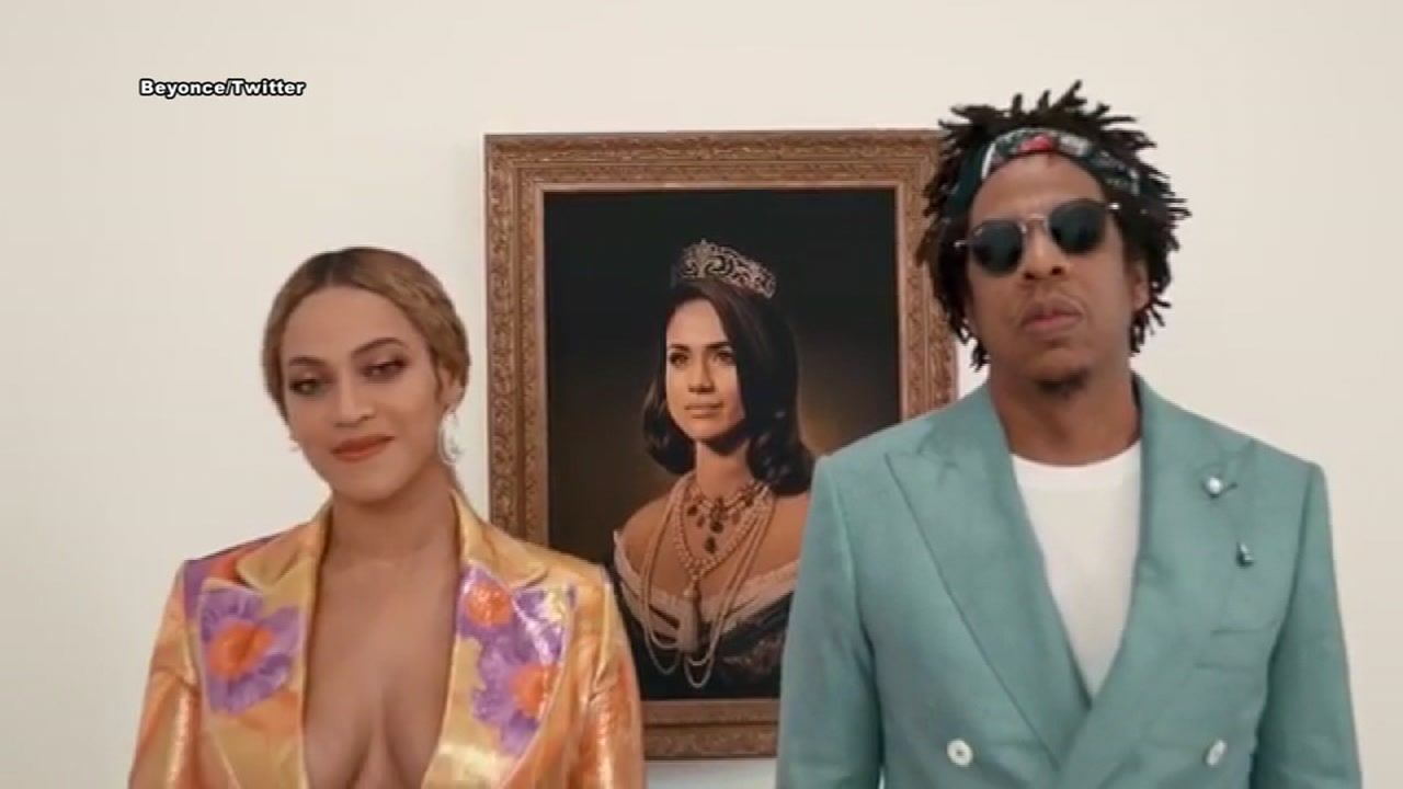 Beyonce honors Megan Markle with a portrait must-have