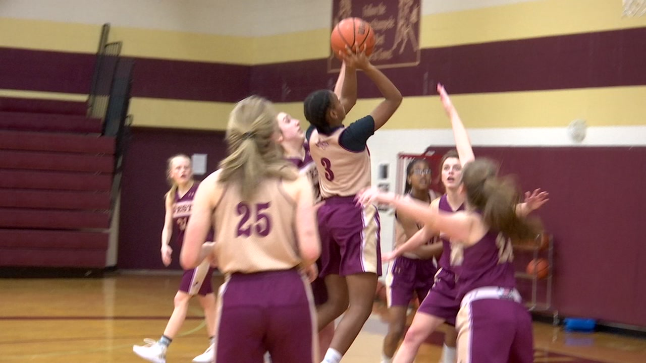 Magnolia West Lady Mustangs gladly enter uncharted territory