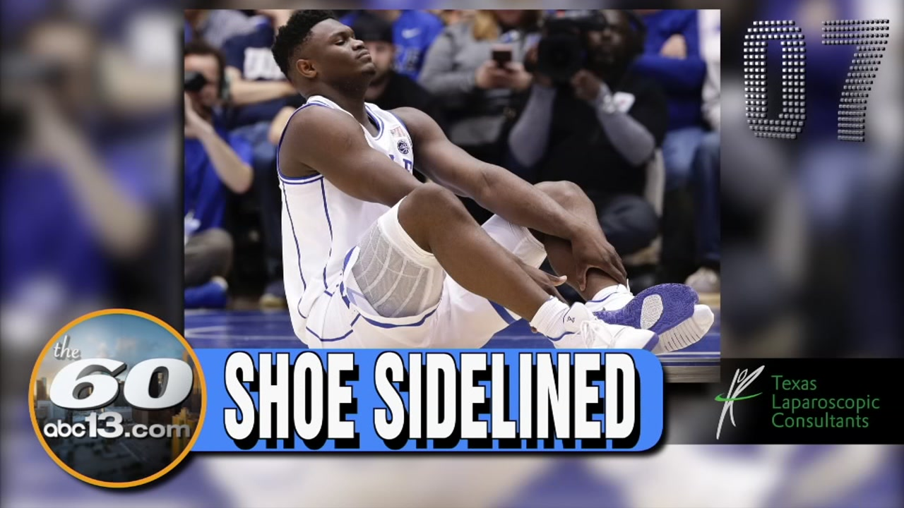 The 60: Nike says its investigation after Duke player Zion Williamsons shoe fell apart during the game against North Carolina.