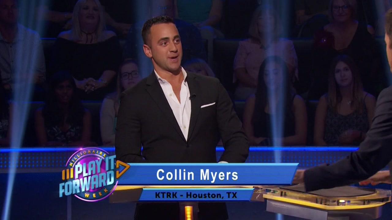 Collin Myers on Millionaire