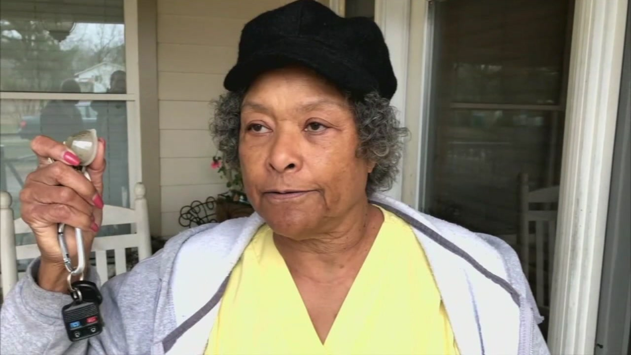 Gun-toting grandma shoots at man trying to break inside home