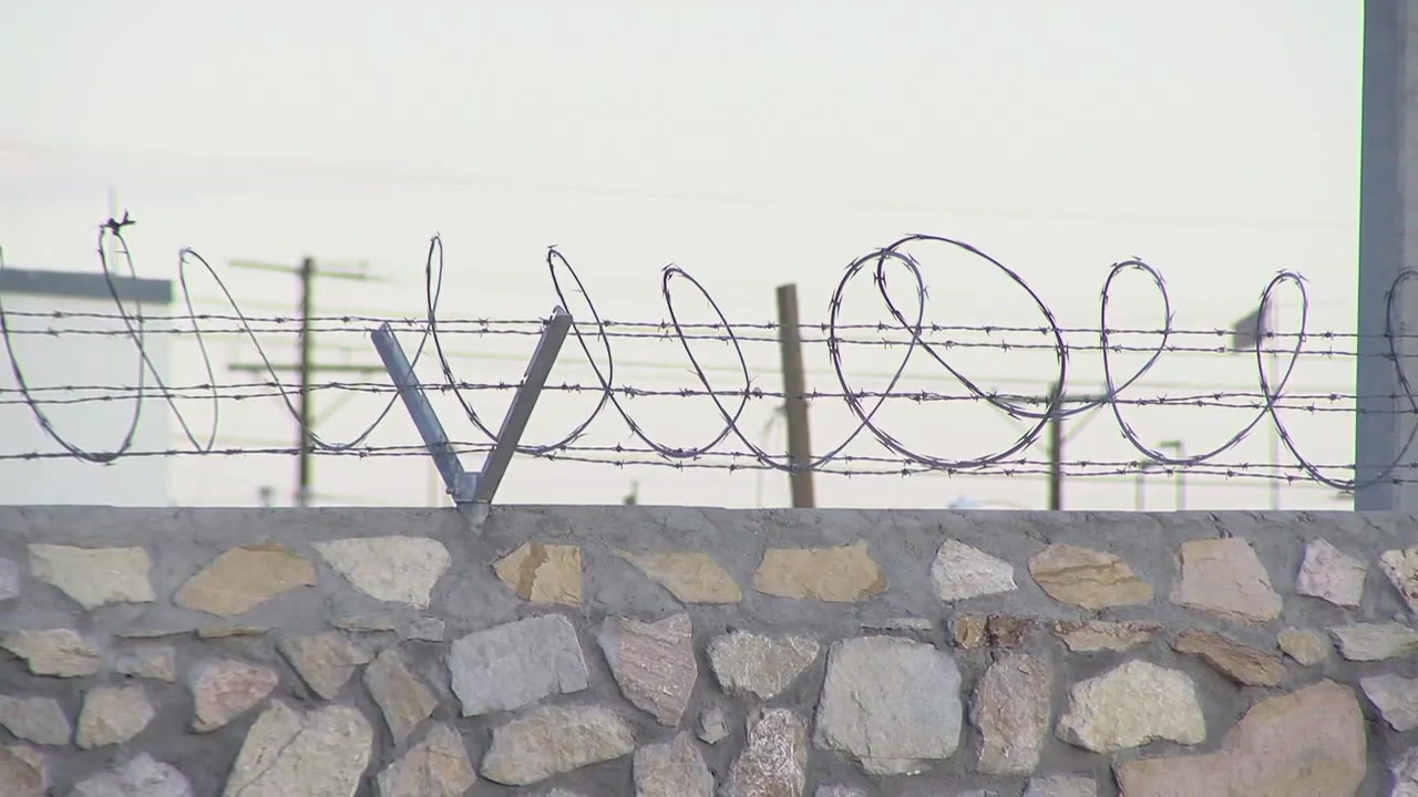 CBP says it is increasing security efforts at the US-Mexico border by adding barbed wire.