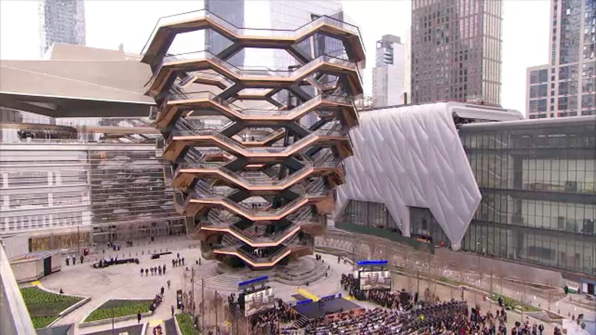 Grand opening: New York City's $25 billion Hudson Yards opens to ...