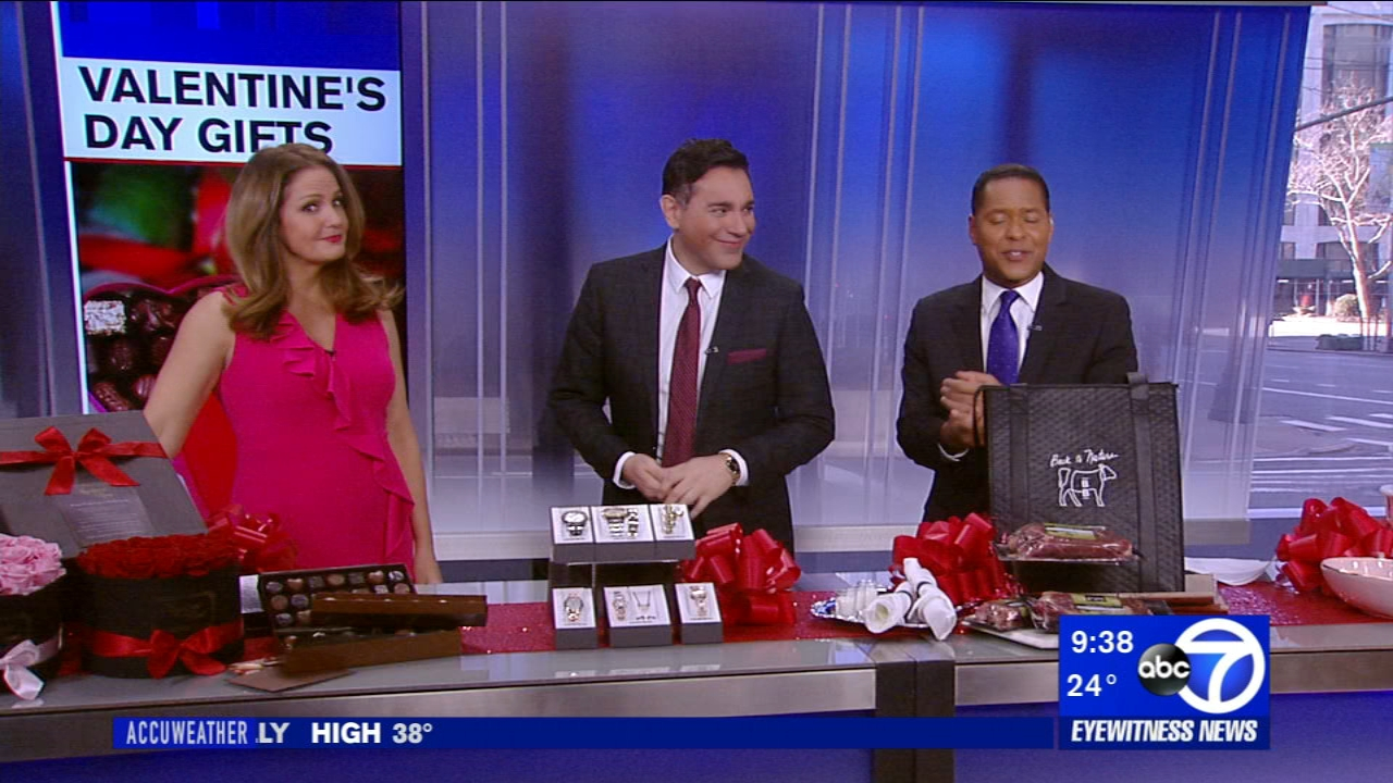 Lifestyle expert Francesco Bilotto joined us with some Valentines Day gift ideas.