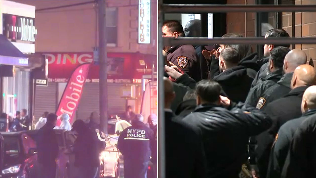 TIMELINE: Fatal shooting of NYPD detective during robbery in Queens