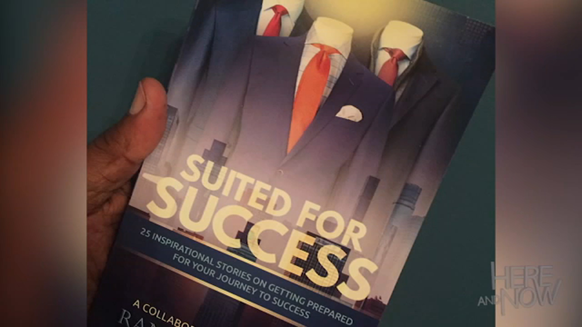 The guests came together to contribute towards a book of stories of twenty-five bold men who are determined to realize their dreams.