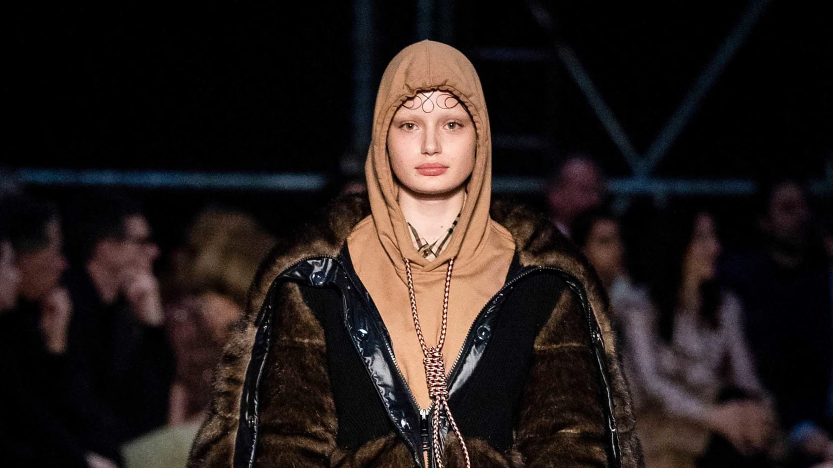 Fashion brand Burberry has apologized for showcasing a hoodie that featured a noose around the neck during its show at London Fashion Week.