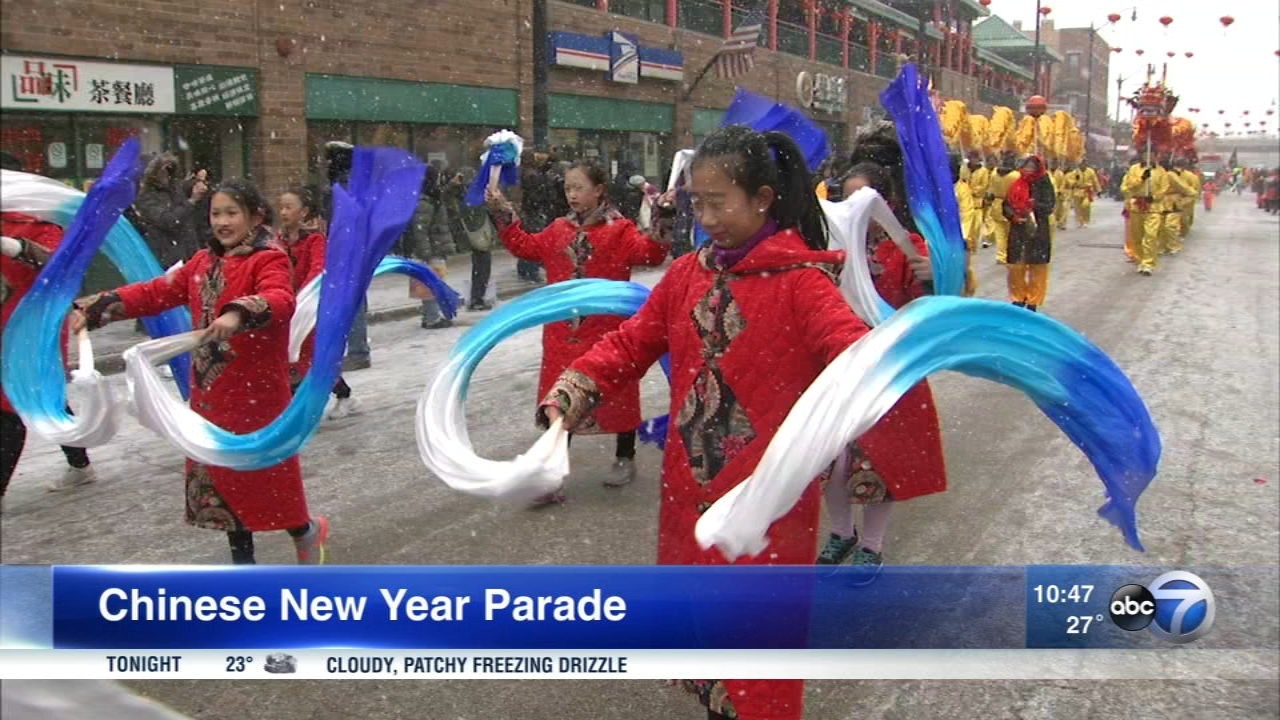 The Chinese New Year Parade was held Sunday in Chinatown.