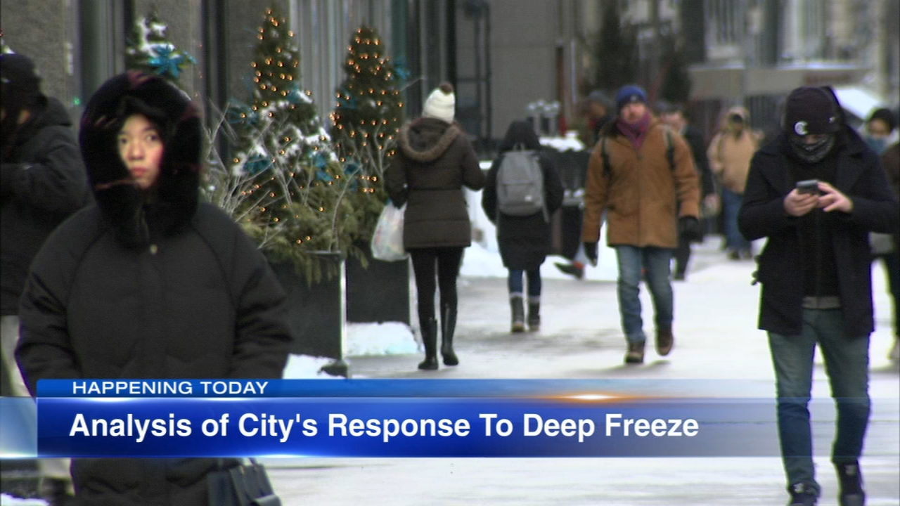 Mayor Rahm Emanuels office is expected to release its analysis of the response to last weeks extreme cold.