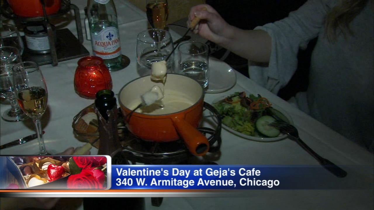 Valentines Day is around the corner, and love is already in the air at Gejas Cafe. The Lincoln Park restaurant is known for its romantic atmosphere, so its no surprise they are
