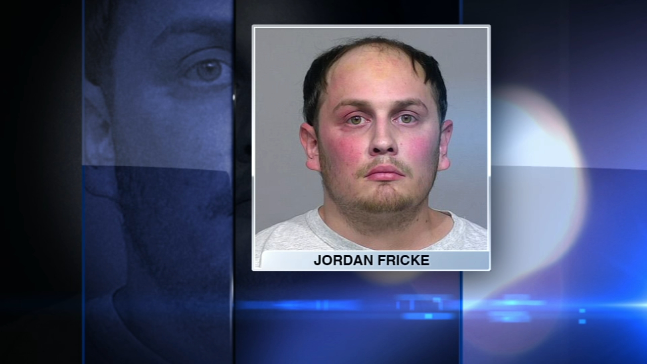 Jordan P. Fricke, 26, was charged in the fatal shooting of 35-year-old Officer Matthew Rittner.
