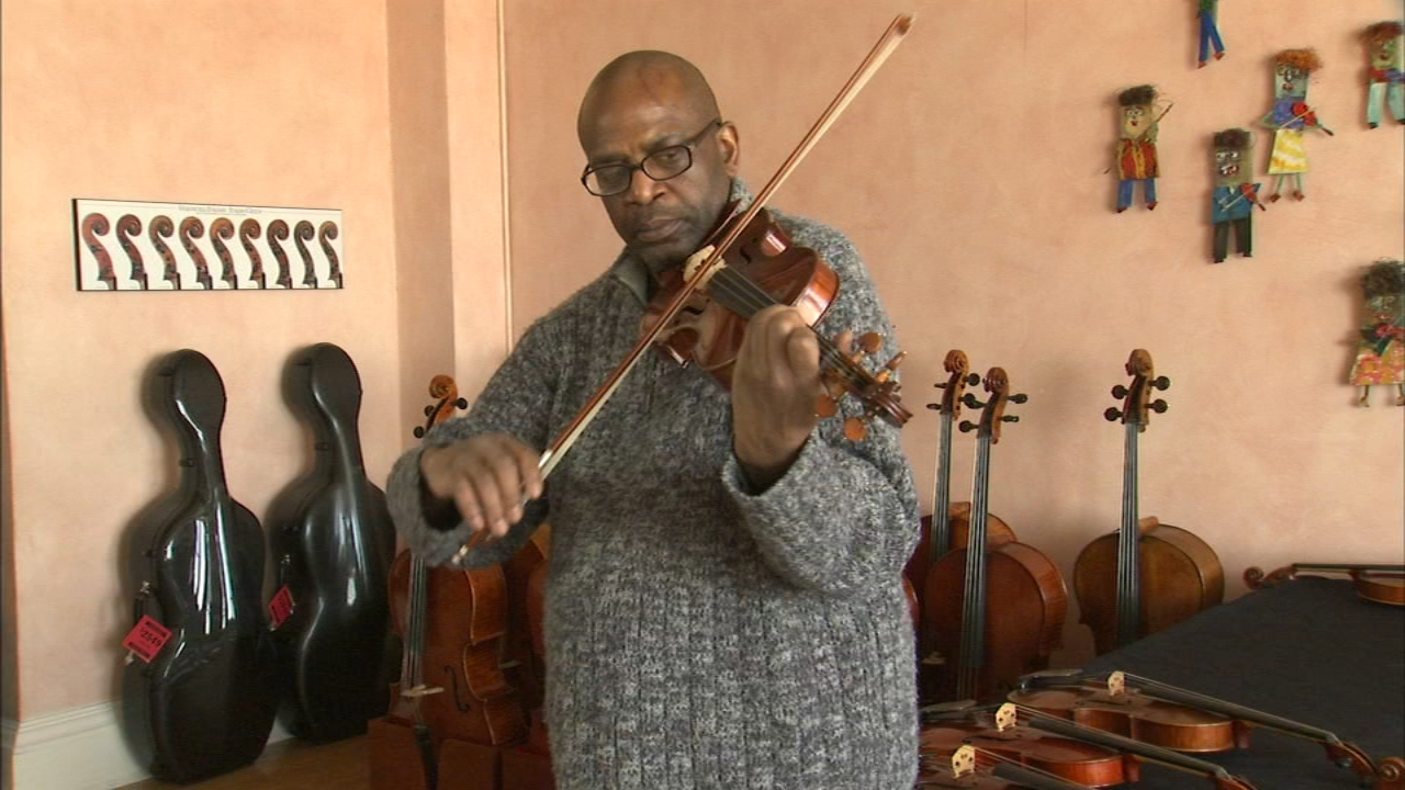 Robert C. Fisher, who came to Chicago from Mississippi nearly 30 years ago, has devoted his life to music – both as a performer and teacher.