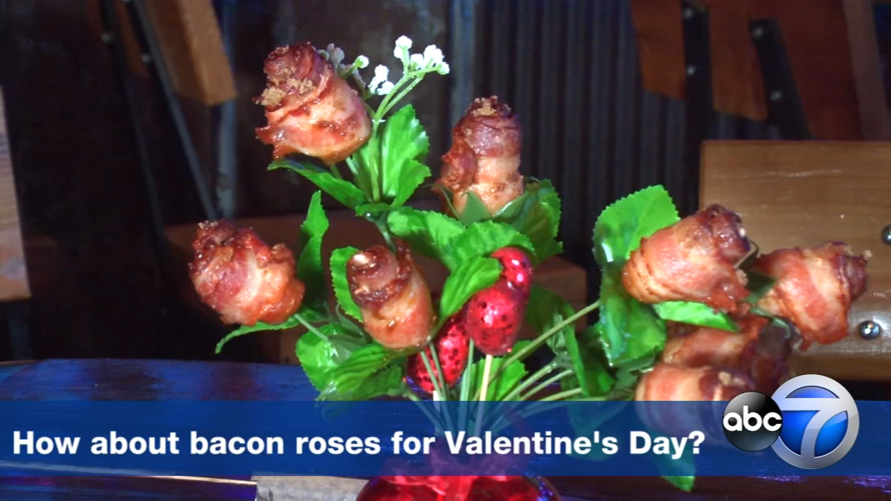 What kind of flowers smell and taste good? Bacon roses, of course!