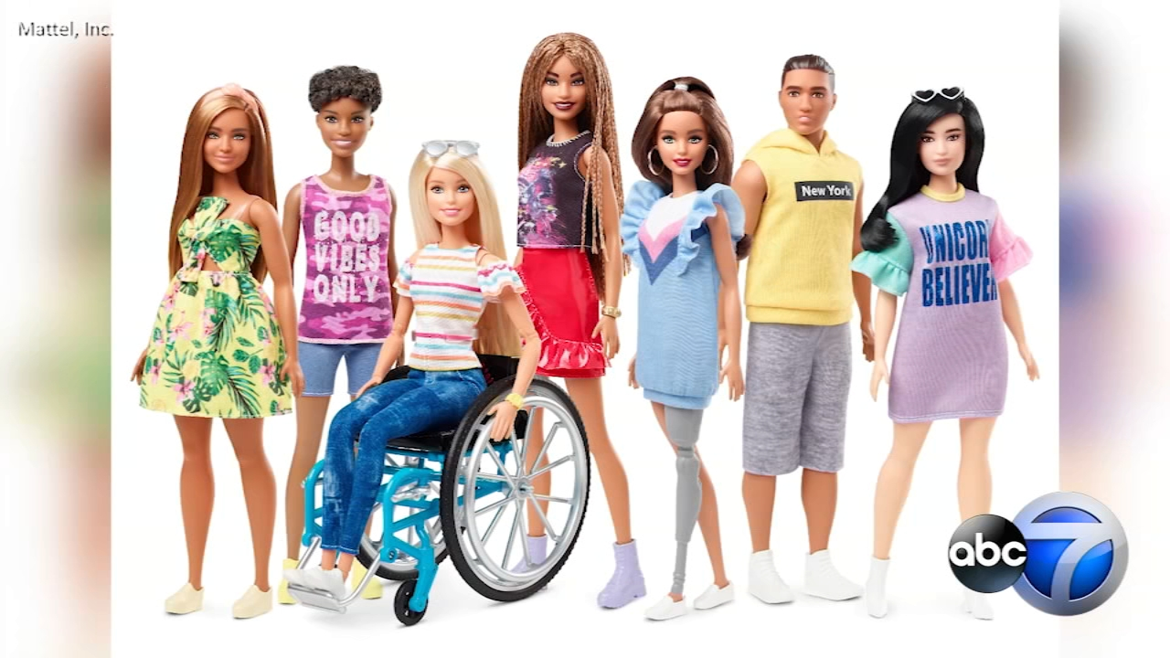 Barbies new looks could help fight the stigma around physical disabilities.