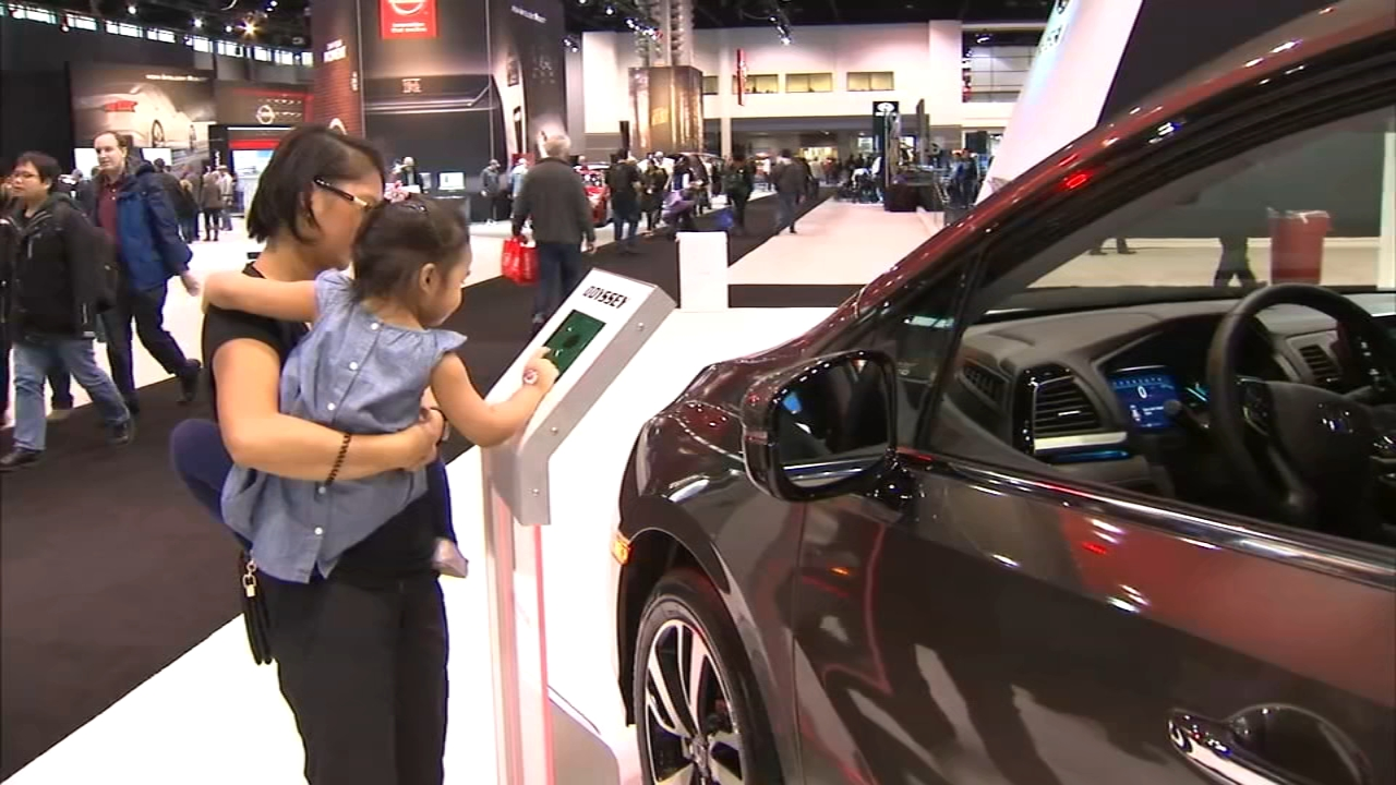 Its all about the ladies at the 2019 Chicago Auto Show on Tuesday! Women can get in for $7.