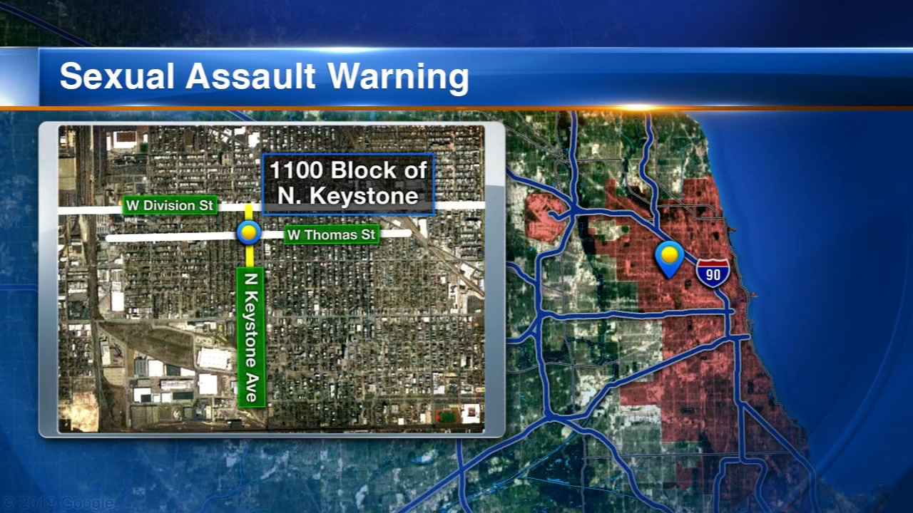 A woman was dragged into an abandoned building and sexually assaulted Monday morning in the Humboldt Park neighborhood, Chicago police said.