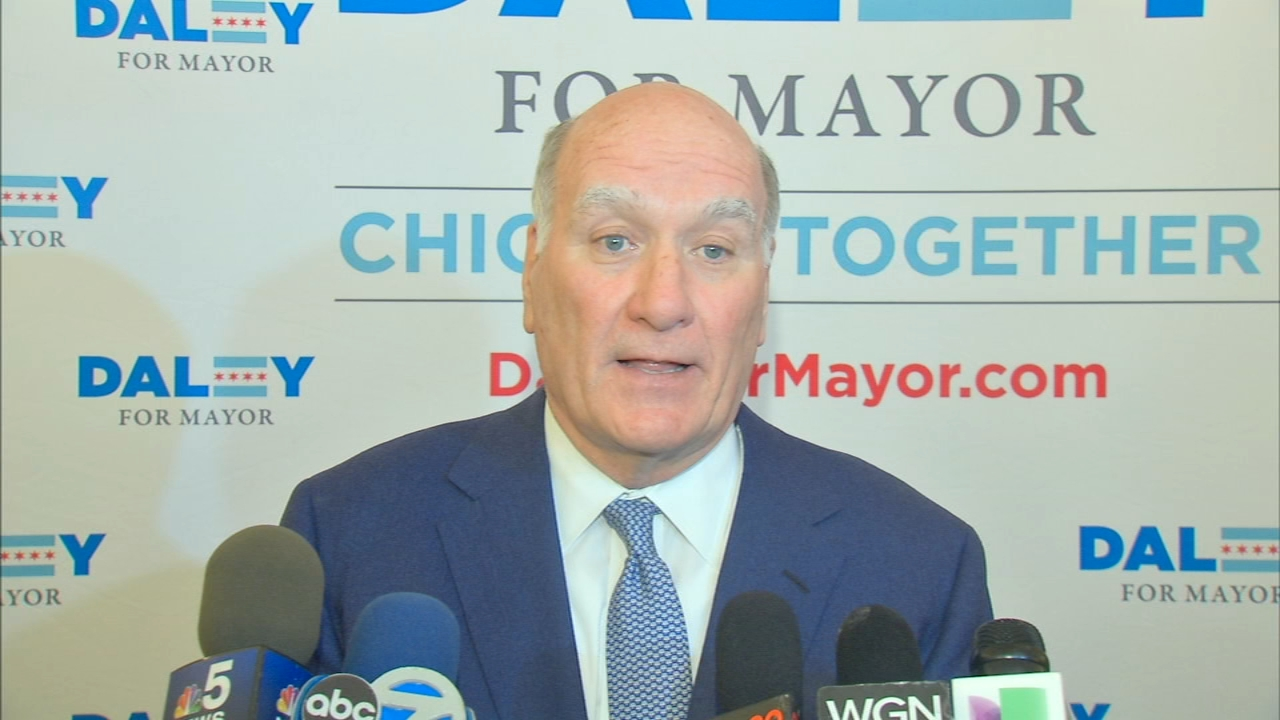 Chicago mayoral candidate Bill Daley received $1 million from hedge fund billionaire Ken Griffin.
