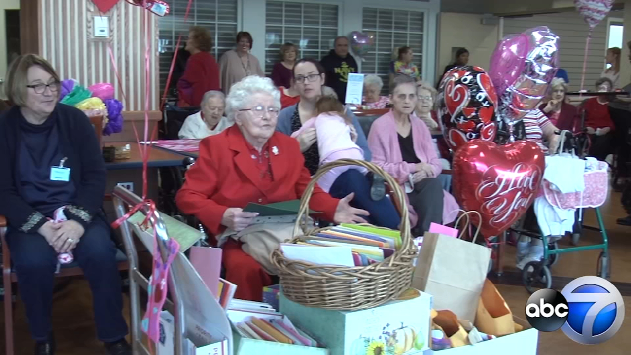 Celebrating Valentines Day and 100 years of life