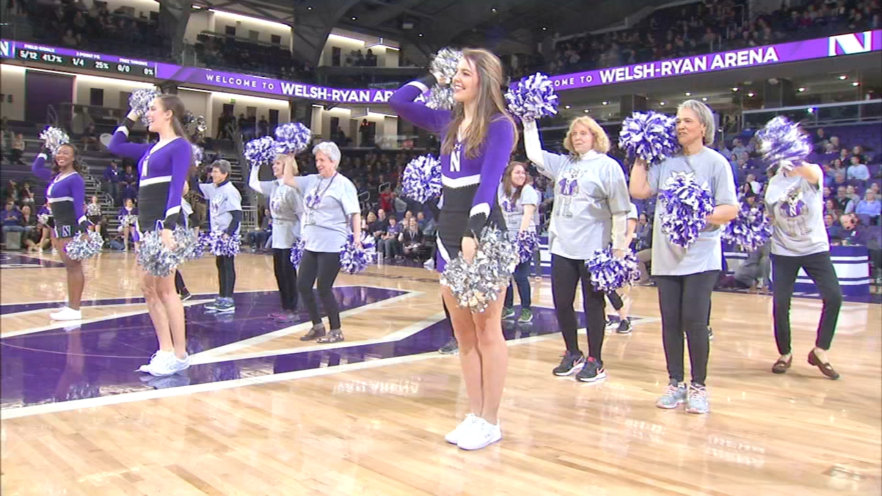 Fans at the Northwestern-Rutgers basketball game on Wednesday were treated to a special halftime performance by the Senior Wildcat Dance Team, which consists of residents from The