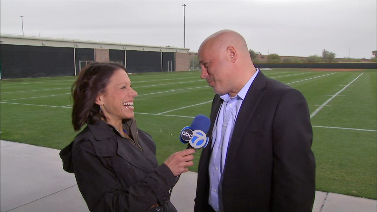 In Thursdays Dionnes Notebook, ABC7 sports reporter Dionne Miller and ESPN.coms Jesse Rogers braved the storm to talk about the projection of an 80-win season for the Cubs.