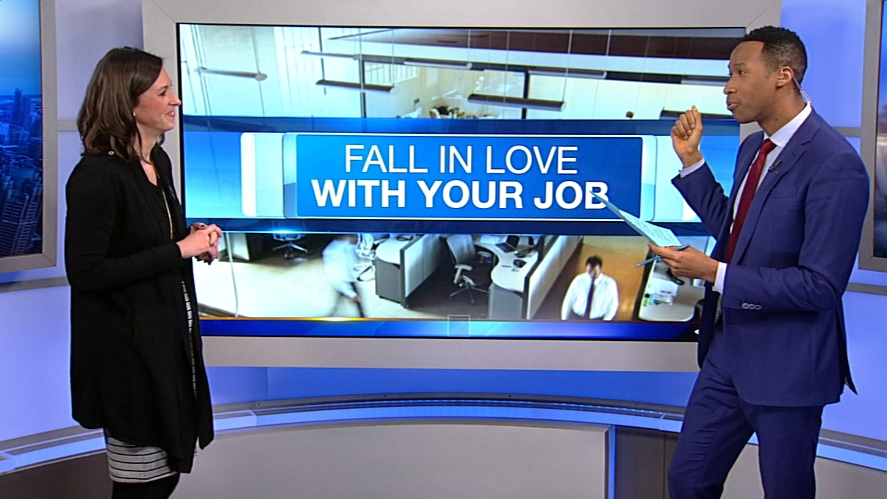 Jessica Schaeffer from the LaSalle Network stopped by ABC7s studios with tips to help you fall back in love with your job.