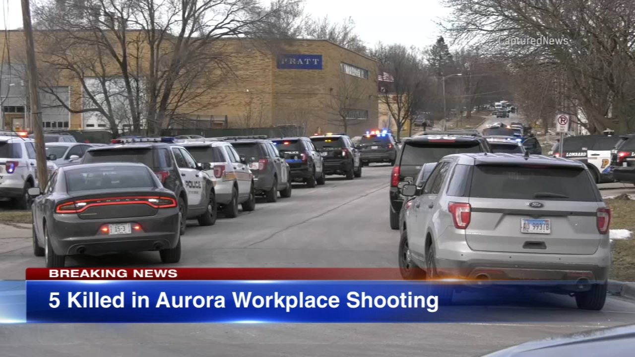 ABC7 Cihcagos Alexis McAdams speaks with Aurora residents following Fridays mass shooting.