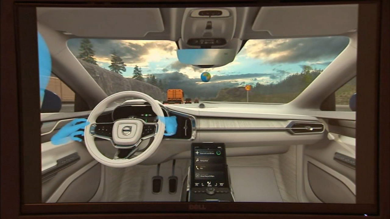Functionality and safety are very prominent on the showroom floor - but so is fun. Volvo has a cool VR experience.