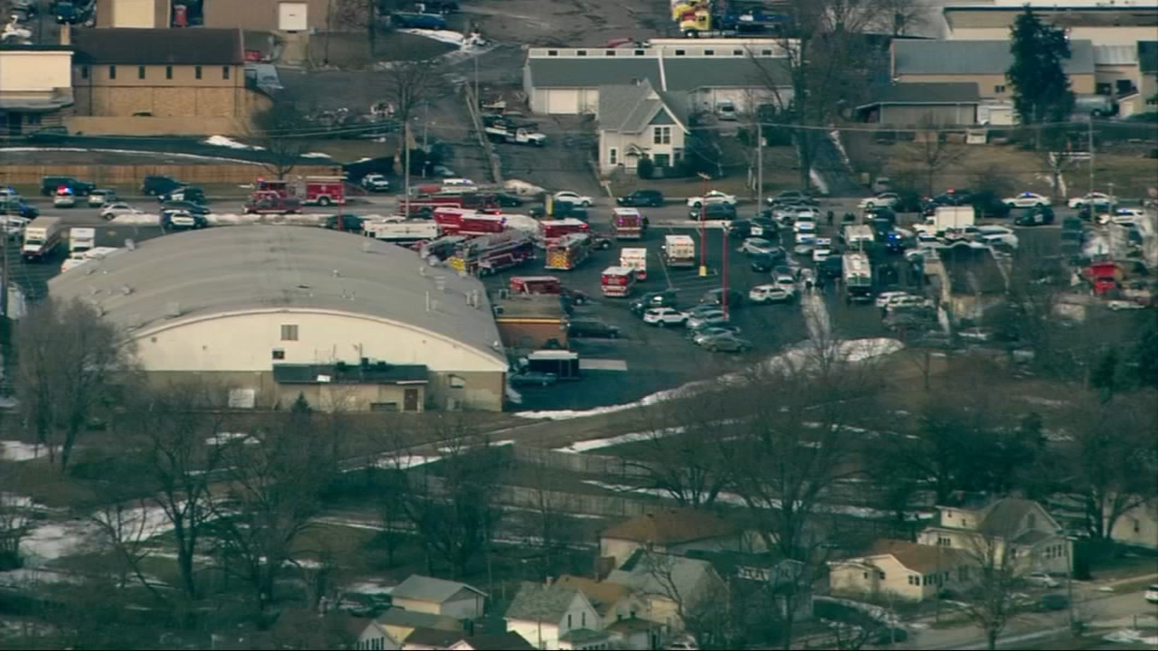 Five people are dead, five City of Aurora police officers were injured and multiple others were injured in an active shooter situation in Aurora.