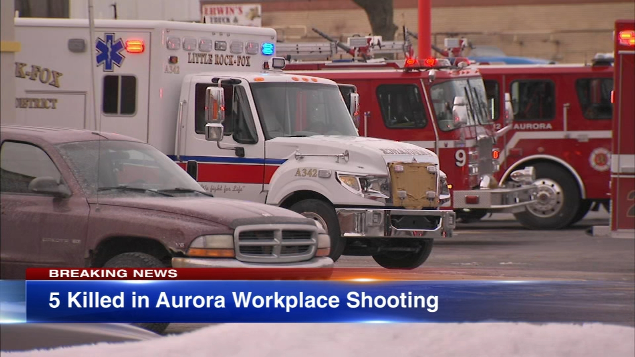 Five people are dead, five City of Aurora police officers were injured and multiple others were injured in an active shooter situation in Aurora. The gunman is also dead, police sa