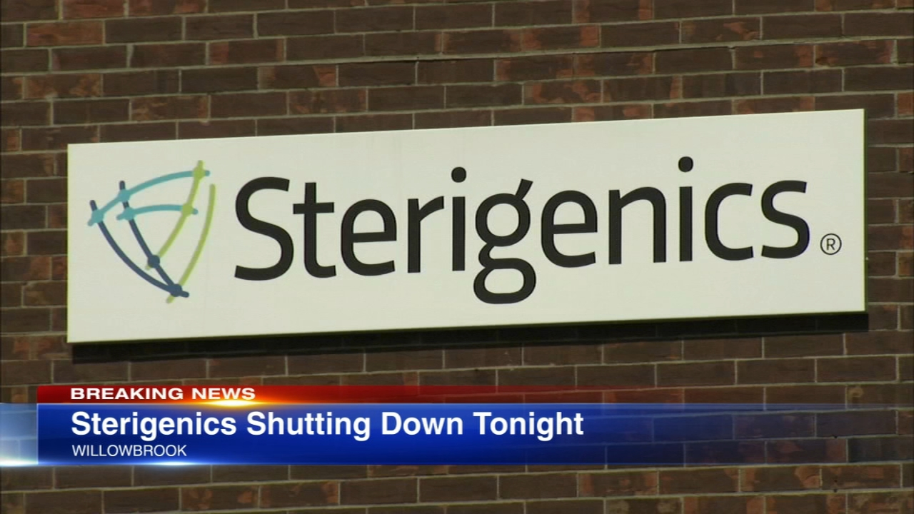 Willowbrook officials announced the Sterigenics plant will be shut down Friday evening.
