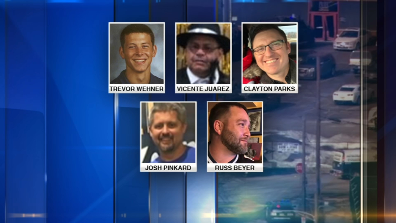 A vigil will be held at Henry Pratt Company in Aurora Sunday at 2:30 p.m. to remember the victims of Fridays shooting and to show support for their families and survivors.