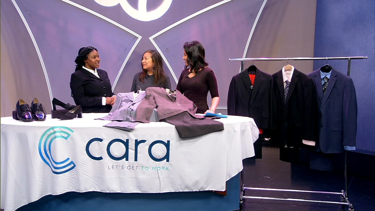 Cara clothing drive: Donate your gently-used professional attire