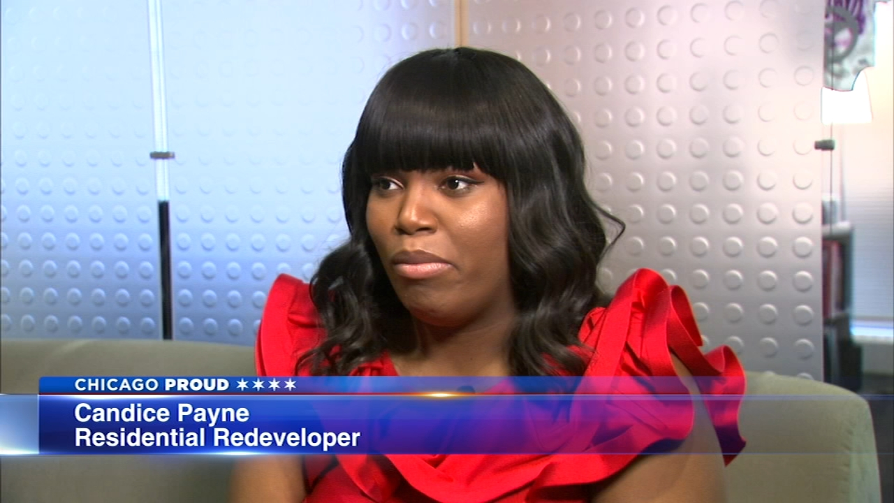 Candice Payne helped get hotel roomsfor more than 100 homeless people when temps dropped below zero.