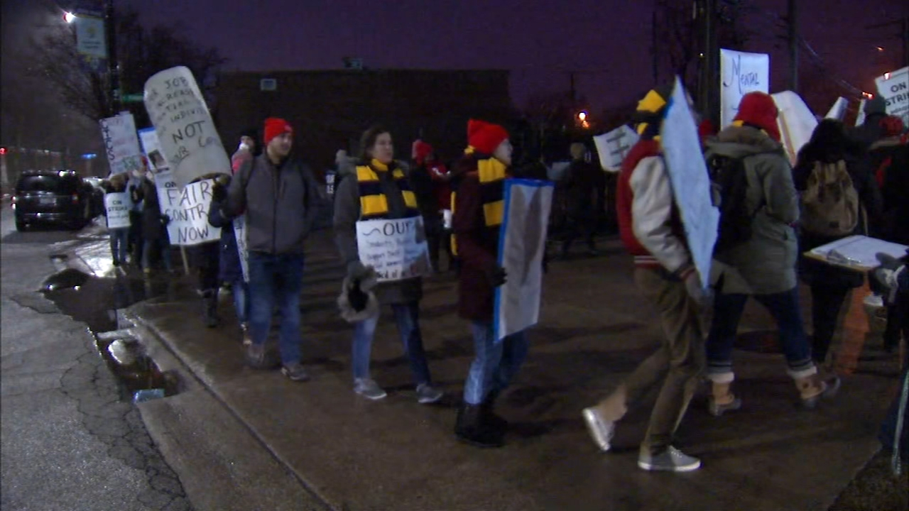 A strike by some Chicago International Charter School teachers is over Monday.