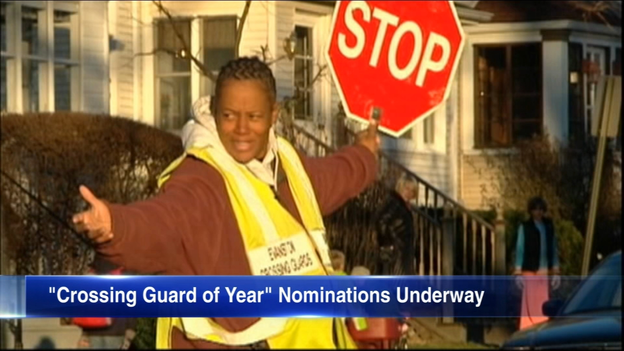 The deadline to nominate someone as Chicago's 2019 Crossing Guard of the Year is March 31.
