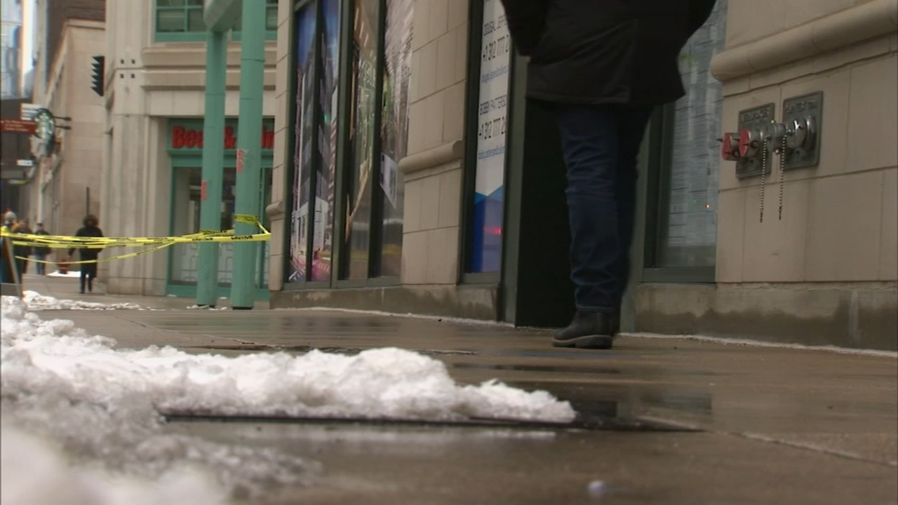 Doctors are reporting an increase in injuries due to icy and potentially dangerous conditions after a winter storm moved into the Chicago area Wednesday.