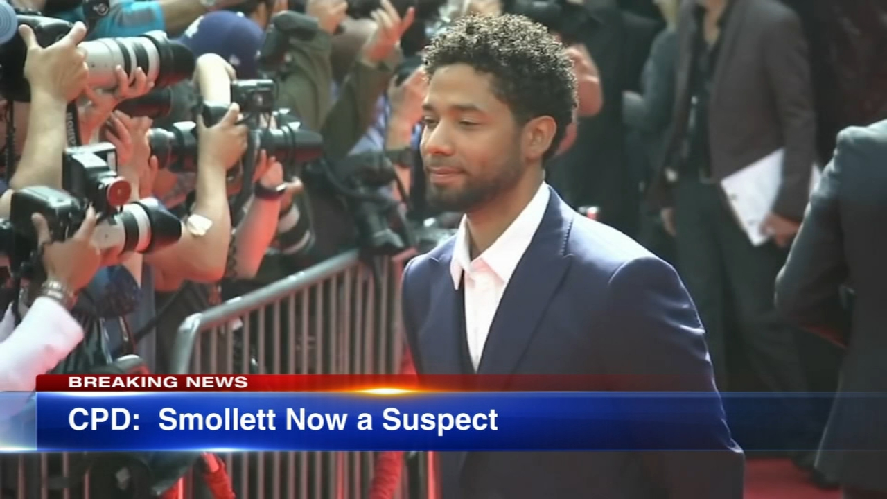 Chicago police confirmed Wednesday afternoon that Jussie Smollett is officially a suspect in a criminal investigation for filing a false police report, a felony.