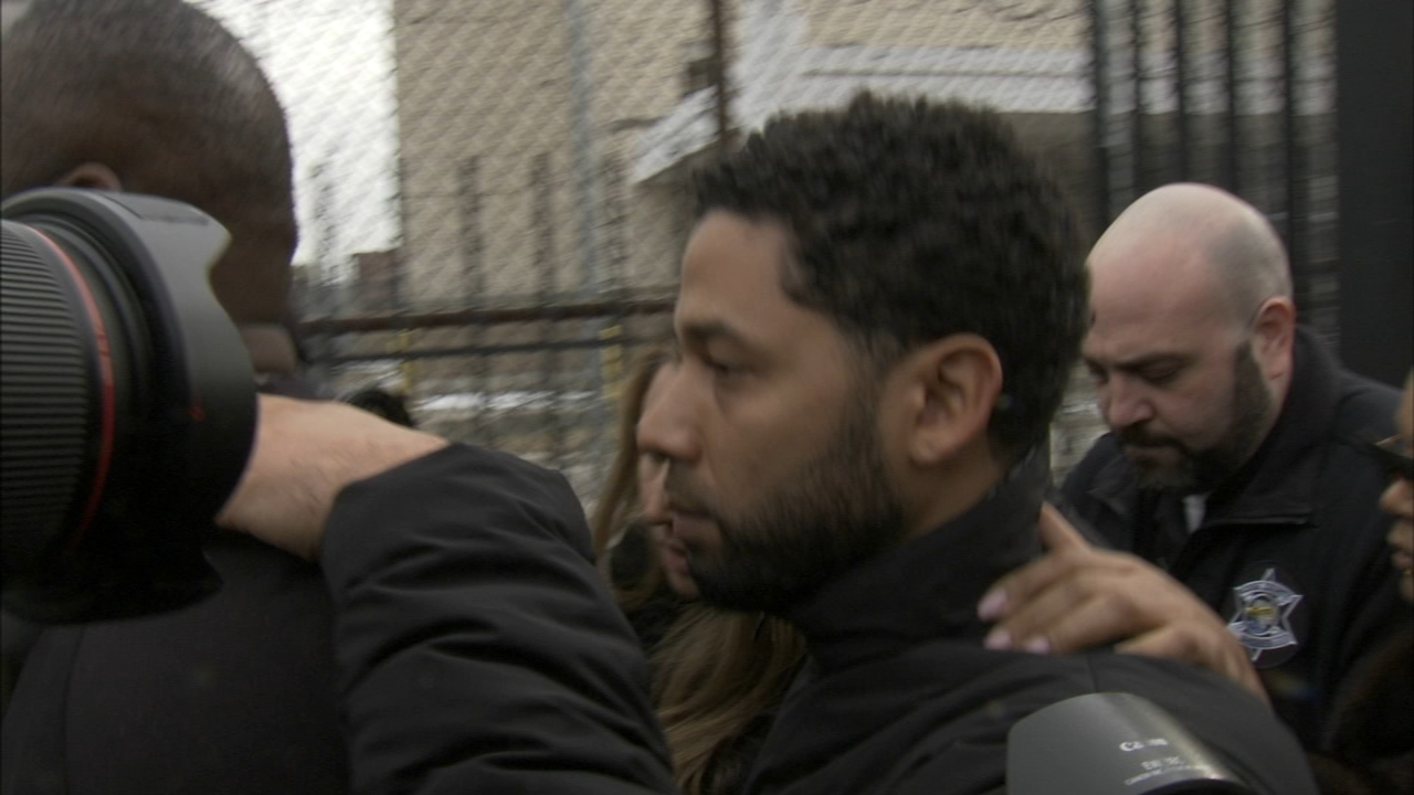 Empire actor Jussie Smollett appeared in court Thursday after he surrendered to authorities Thursday morning on one felony count of disorderly conduct for filing a false police r