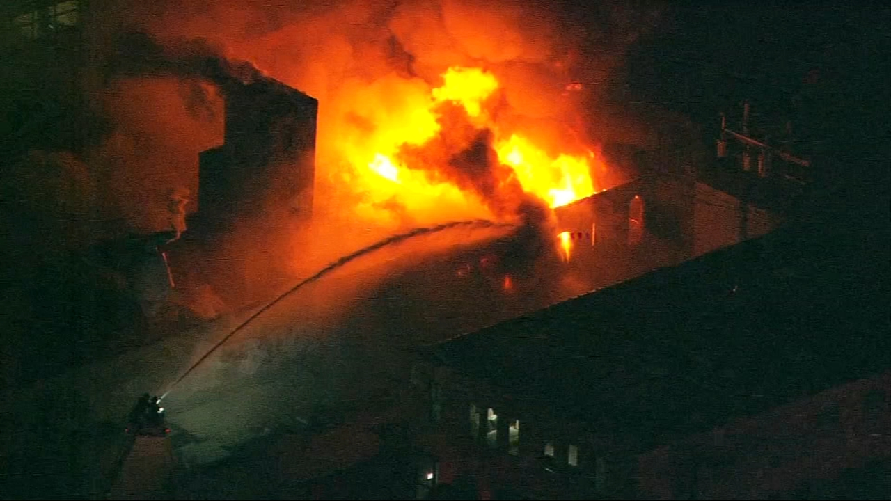 Hundreds of Chicago firefighters spent hours battling flames at a metal plating company in the West Loop neighborhood Thursday morning.