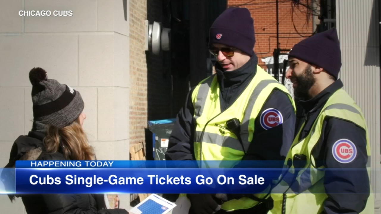 Single-game tickets for Cubs games go on sale Friday, and the team wants everybody in on the excitement.